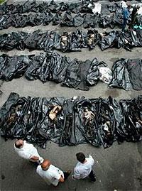 Victims of Beslan school massacre