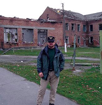 John Giduck at the Beslan school