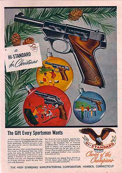 Hi Standard .22 Ad from 1957