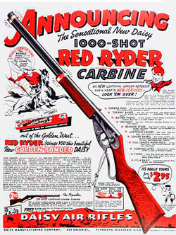 Red Rider Carbine Ad from the 1930s
