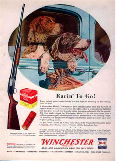 Winchester Ad from 1947