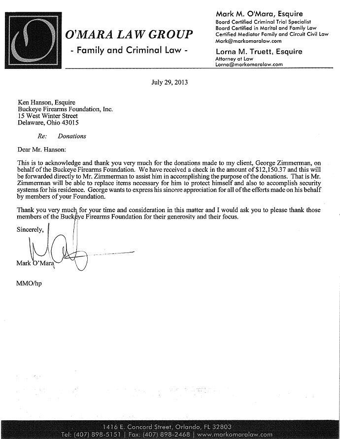 Zimmerman thanks buckeye firearms foundation george zimmerman thanks buckeye firearms foundation expocarfo