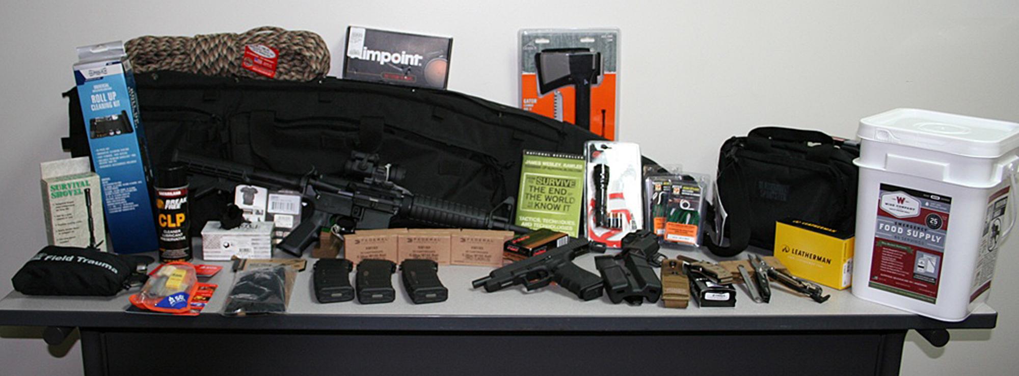 Survival Kit Bug Out Gun : Eotwawki guns survival gear raffle buckeye firearms