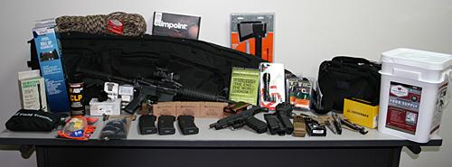 EOTWAWKI Guns & Gear Survival Raffle