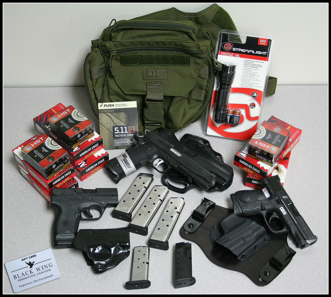 3-Gun EDC Raffle - Win a complete everyday carry package ...