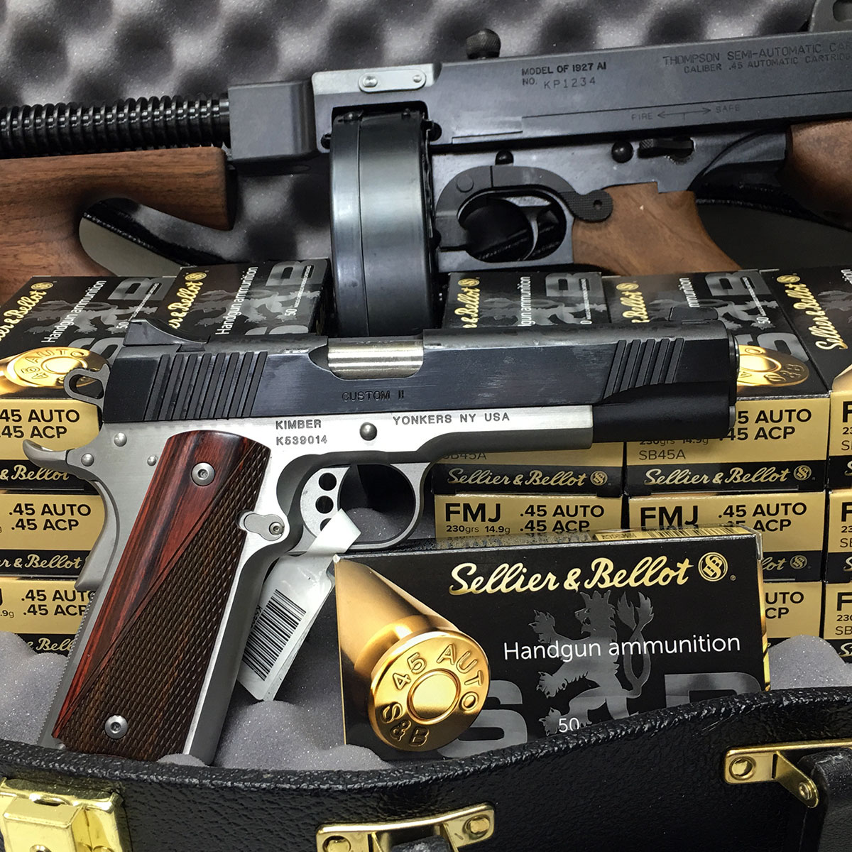 All-American Tommy Gun Raffle - $3,000 Prize Package