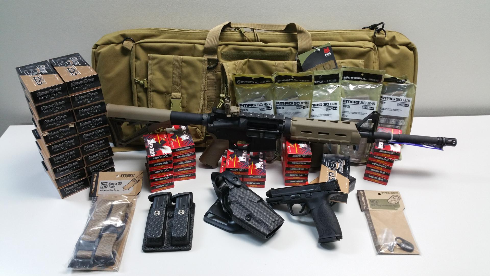 Weapons Of The Walking Dead Raffle Buckeye Firearms