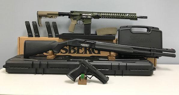Celebrate the Constitution with the Elite 3 Gun Raffle - $3,260