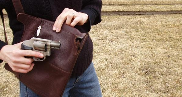 How to shoot through a concealed-carry purse | Buckeye Firearms Association