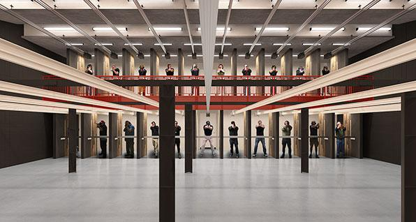 Parma Armory Double Deck Shooting Range