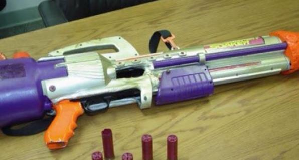 Shotgun disguised as Super Soaker highlights folly of Rep ...