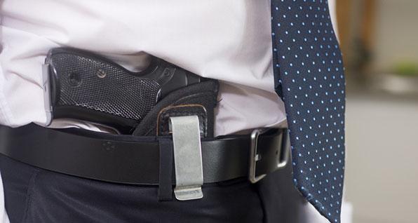 carry firearm in store
