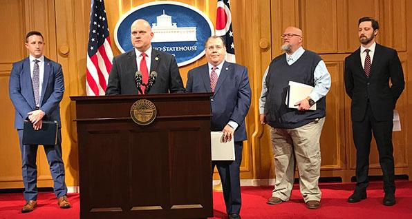 Ohio Emergency Powers Bill News Conference