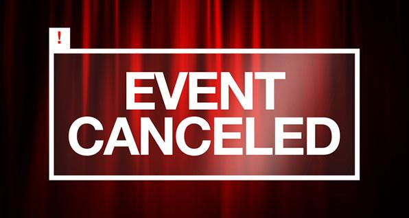 gun events canceled