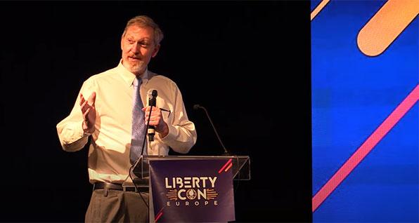 John Lott at LibertyCon 2020