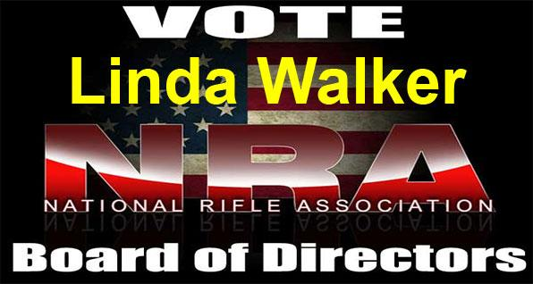 Vote Linda Walker NRA Board of Directors